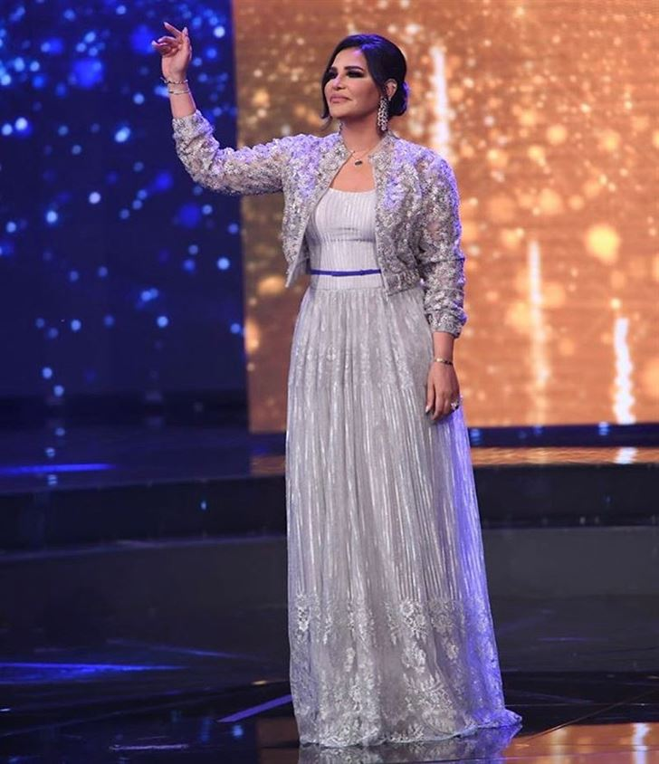 Ahlam Al Shamsi Best Looks in Arab Idol Season 4