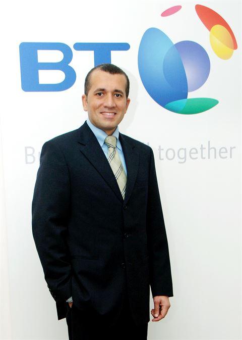 السيد وائل القباني، نائب الرئيس لمنطقة الشرق الأوسط وشمال إفريقيا في مجموعة بي تي