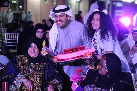 سابليه تكرم الأمهات في عيدهن وتحتفل مع نزيلات دور رعاية المسنين