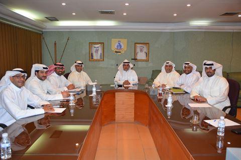 مجلس إدارة النادي العلمي الكويتي