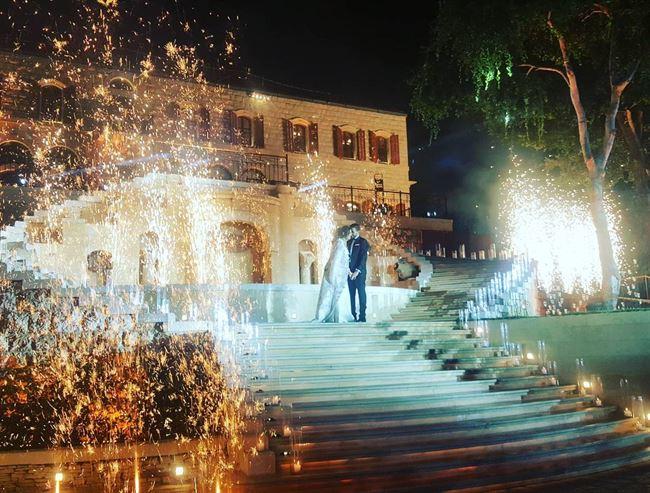 أجمل اللقطات من حفلات أعراس شاتو رويس