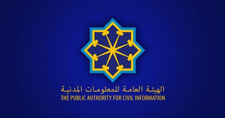 الهيئة العامة للمعلومات المدنية تشترط الدفع المسبق لإصدار البطاقة المدنية