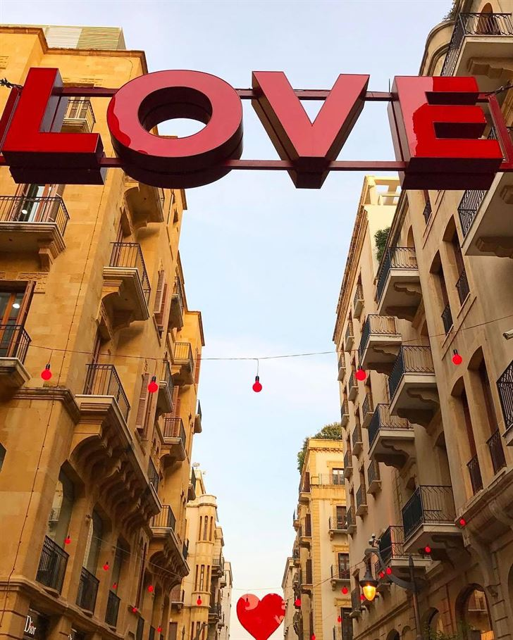 10 Beautiful Photos from Downtown Beirut