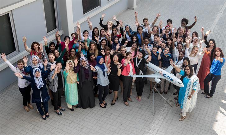 رحلتان للناقلة بطاقم نسائي كامل فلاي دبي تحتفل بيوم المراة العالمي