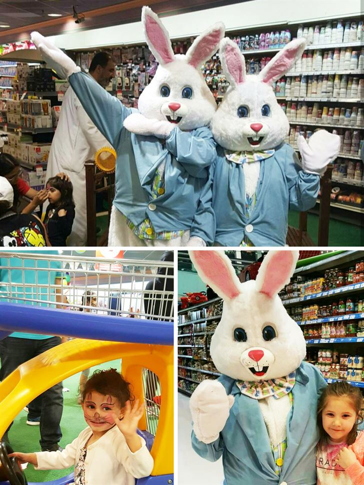 Hop Into Spring ... A Fun-filled Event at TSC - Salmiya