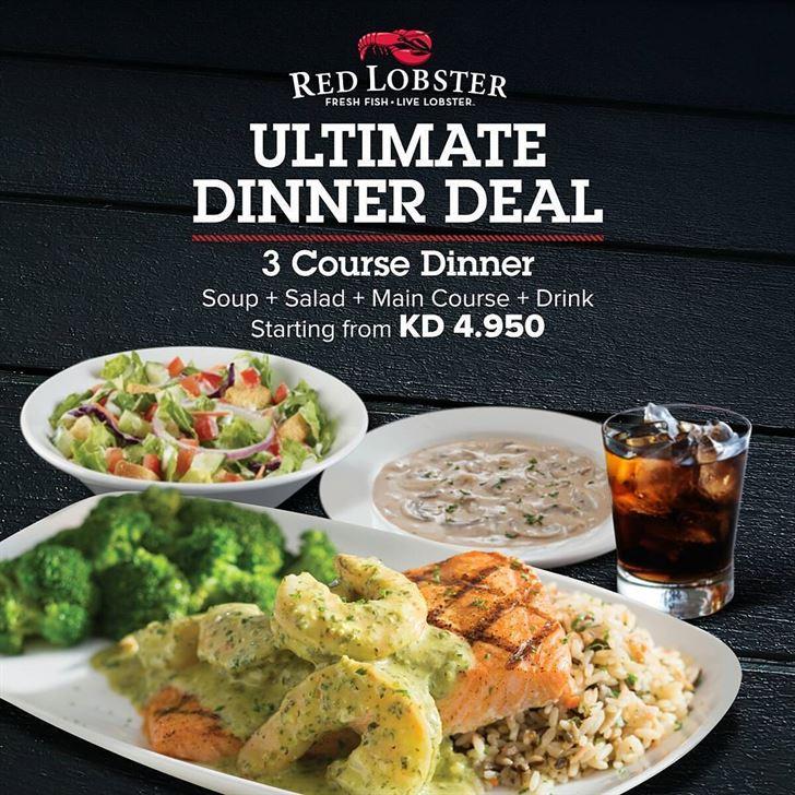 Red Lobster Restaurant Ultimate Dinner Deal