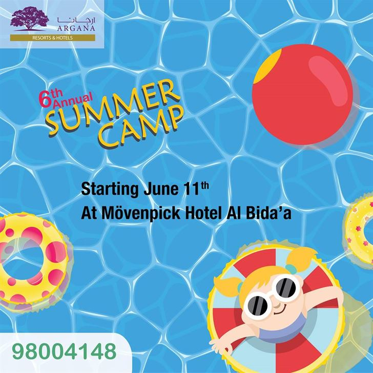 ARGANA Summer Camp at Movenpick Hotel & Resort Al Bida'a