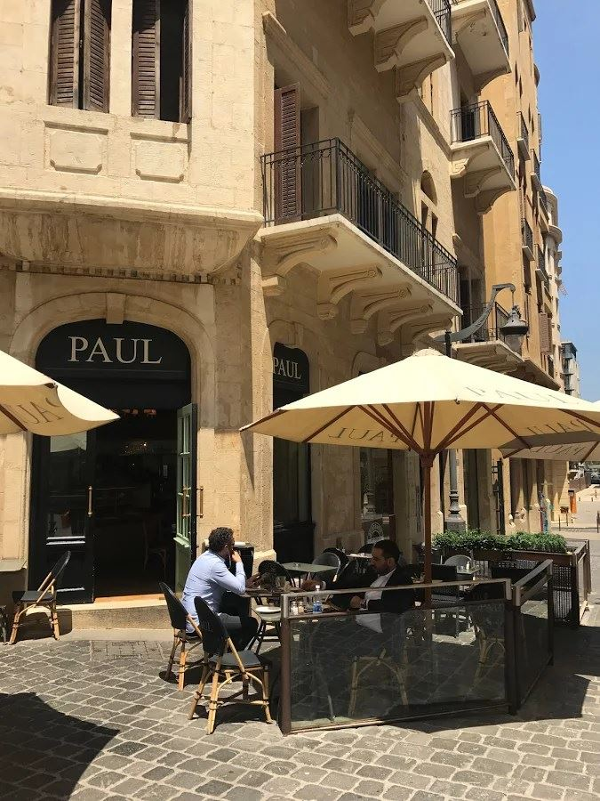 photos of paul restaurant bakery lebanon. Black Bedroom Furniture Sets. Home Design Ideas