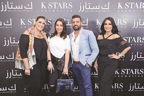 لينا هاني وباسكال شديد وأمل العنبري ورولا عبدالعزيز