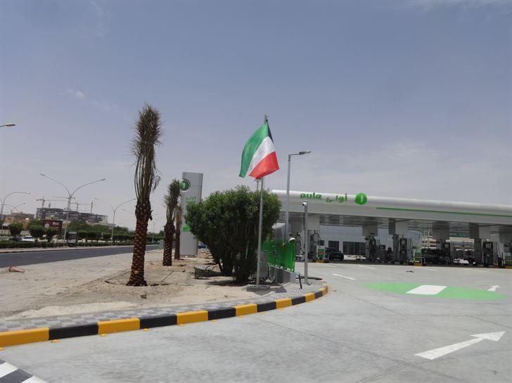 """""""الأولى للوقود"""" تعيد افتتاح محطة القصر بوقت قياسي"""