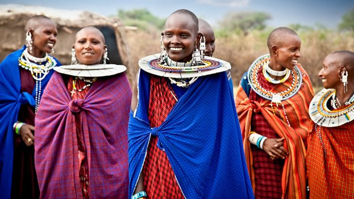 Faces of Tanzanians