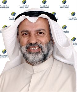 Mr. Abdulwahab Abdullah Al-Houti, Warba Bank Board Chairman