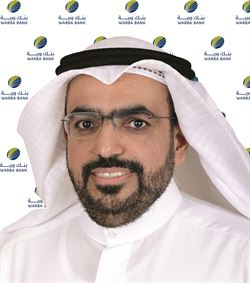 Mr. Shaheen Hamad Al-Ghanem, Warba Bank's CEO