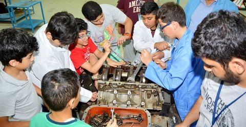 انطلاق الدورات الصيفية 2017 بالنادي العلمي