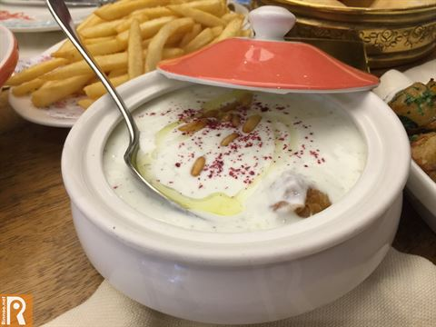 Lunch at Leila Lebanese Restaurant in Avenues Mall