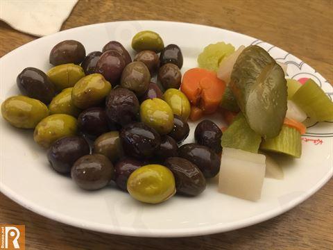 غداء في مطعم ليلى اللبناني فرع الأفنيوز
