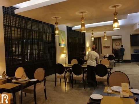 Dinner in Al Roshinah Restaurant in Safir Fintas Hotel