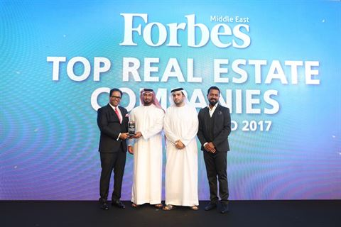 The Arenco Real Estate award was presented to Mr Nayef Al Moosa