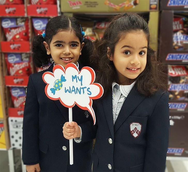 مركز سلطان استضاف أطفال المدرسة الأمريكية المتحدة