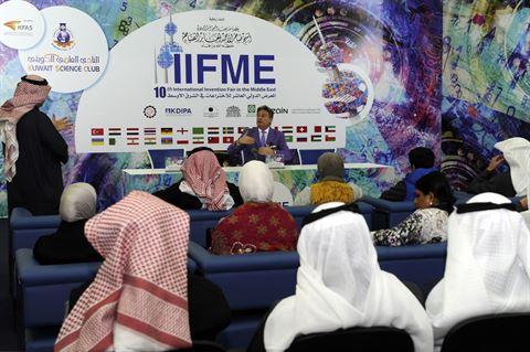 ديفيد فاروقي، رئيس لجنة تحكيم المعرض الدولي العاشر للاختراعات في الشرق الأوسط