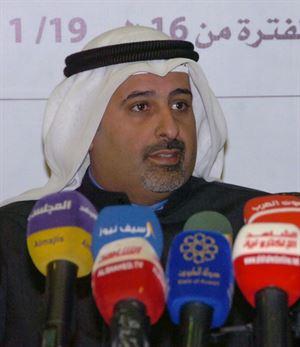 المهندس أوس النصف، عضو مجلس إدارة النادي العلمي الكويتي وعضو اللجنة المنظمة للمعرض الدولي العاشر للاختراعات في الشرق الأوسط