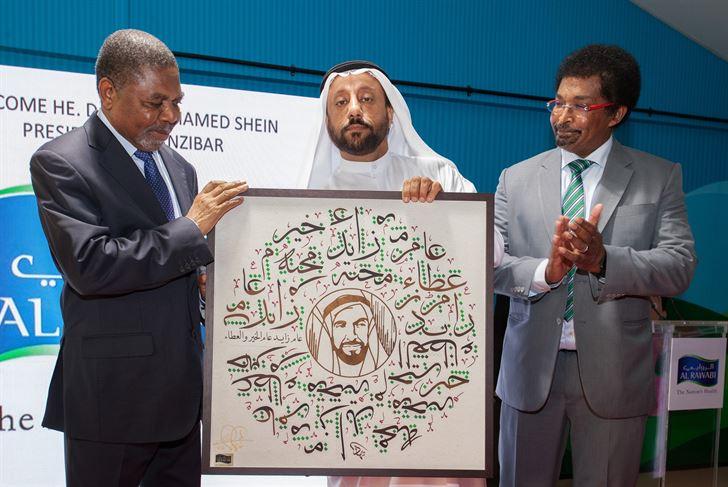 الشركة الوطنية الروابي للألبان تستقبل رئيس زنجبار في إمارة دبي