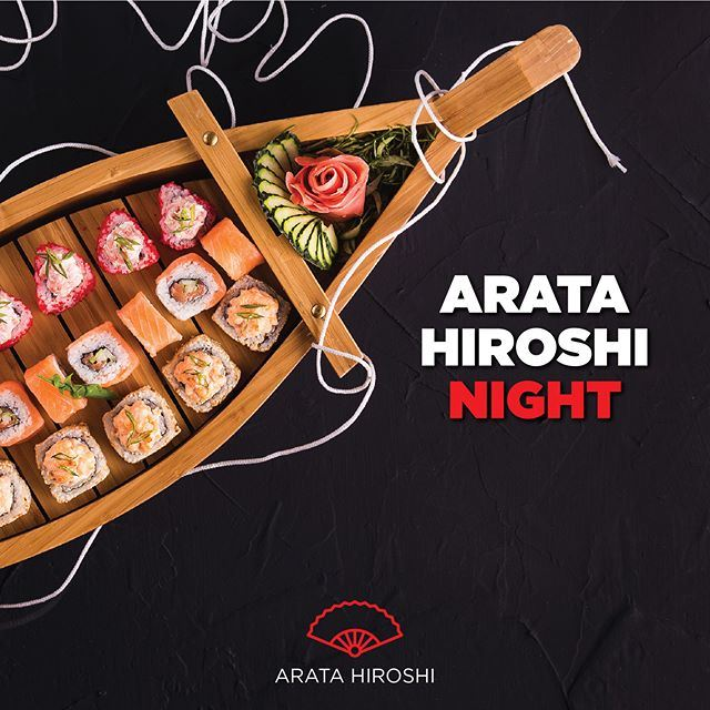 "Experience the New ""Arata Hiroshi Boat Night"" at Sakura Japanese Restaurant"