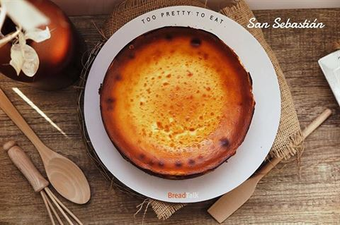 Breadtalk San Sebastian Cheesecake