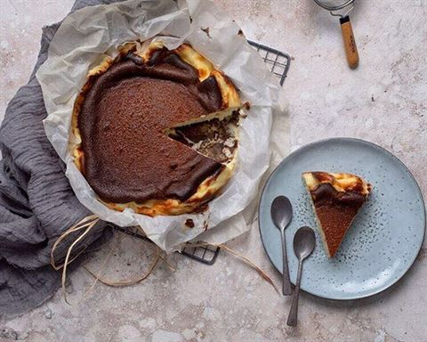 La Baguette San Sebastian Cheesecake