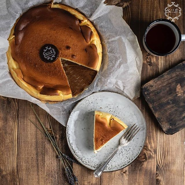 Sale Sucre San Sebastian Cheesecake