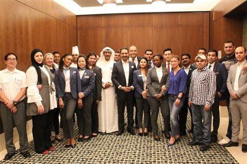 فندق سفير الفنطاس - الكويت ينظم دورة تدريبية لموظفيه