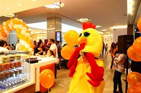 افتتاح مطعم تشيكن فليفور في مول بيروت سيتي سنتر