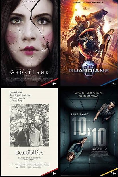 New Movies in Cinescape Kuwait - End of November 2018