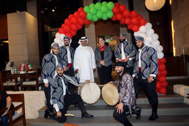 Sultan Ibrahim restaurant Kuwait celebrates Lebanon's 75th national day