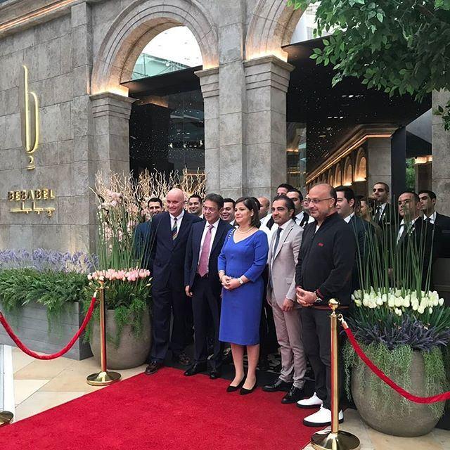 افتتاح مطعم ببابل اللبناني في مجمع الأفنيوز الكويت
