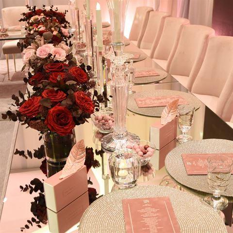 بالصور ... تفاصيل حفل زفاف الفاشنيستا دانة الطويرش في دار حمد الكويت