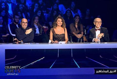 نجوم الموسم الثالث من ديو المشاهير على شاشة MTV اللبنانية