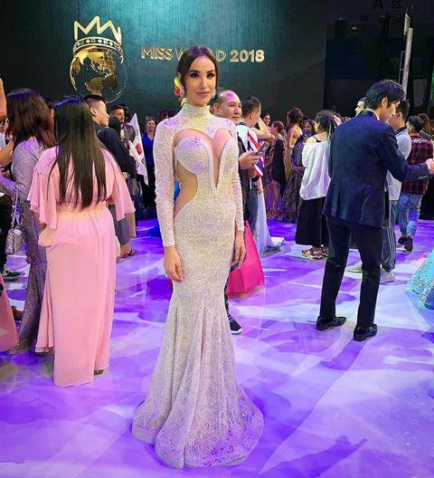 Mira Toufaily Represented Lebanon in Miss World 2018 in China