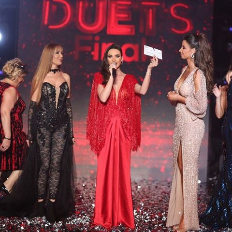 Dalida Khalil Wins Celebrity Duets Season 2 on MTV Lebanon