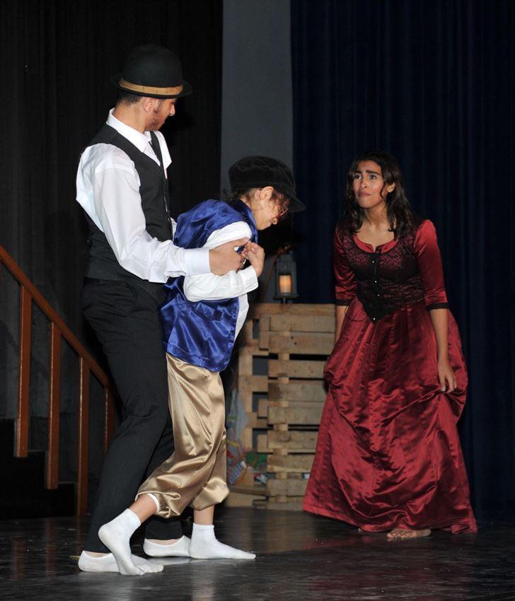 Oliver Twist at Kuwait National English School