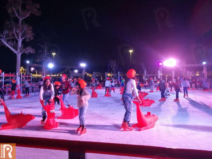 زيارتنا الى مهرجان الثلج في حديقة الشهيد في مدينة الكويت