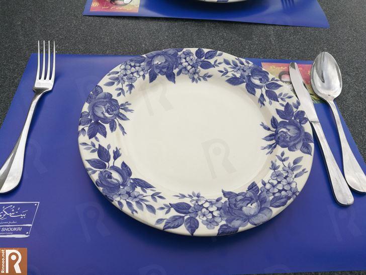 غداء مصري في مطعم بيت شكري - مركز الشيخ جابر الثقافي