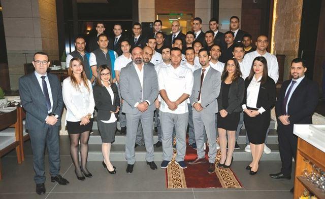 افتتاح الفرع الثاني لمطعم السلطان ابراهيم اللبناني في السالمية