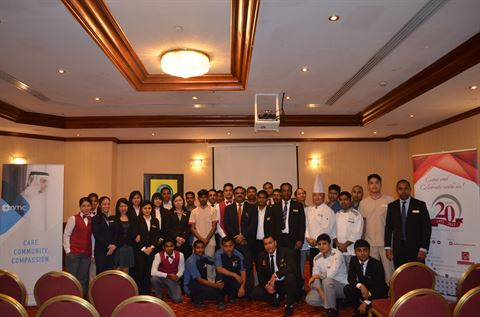 Al Bustan Centre & Residence holds Health-Talk in association with NMC Hospital