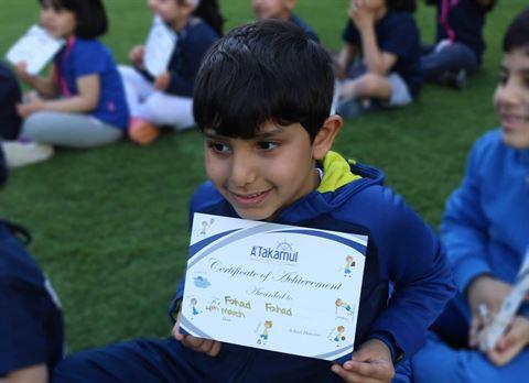 TSC Supports Al-Takamul Int'l School Annual Sport's Day