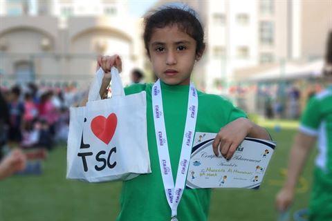 مركز سلطان يدعم اليوم الرياضي السنوي لطلاب مدرسة التكامل العالمية