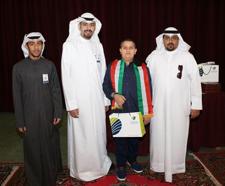 بنك وربة يكرم المتفوقين من مدرسة عبداللطيف سعد الشملان المتوسطة