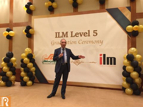 ILM Level 5 Graduation Ceremony of TSC Managers