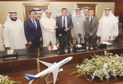 توقيع اتفاق تقاسم الرموز بين شركة طيران الشرق الأوسط و الخطوط الجوية الكويتية