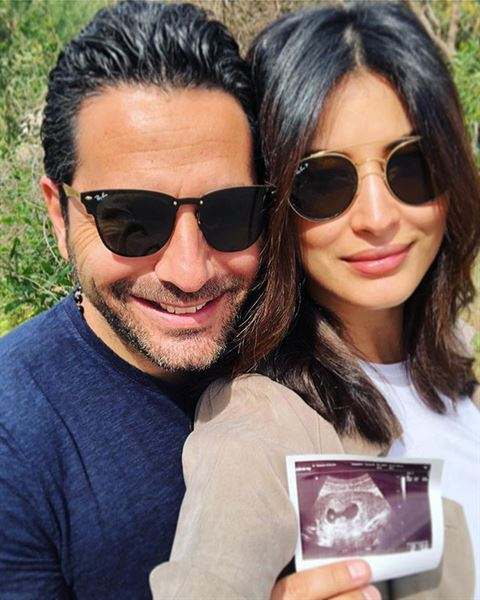 Rym Saidi and Wissam Breidy announced Pregnancy on Mother's Day